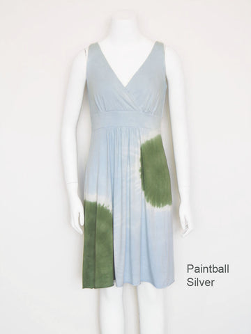 Paintball Goddess Dress - Silver