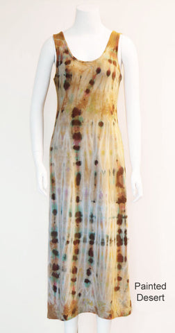 Tie Dye Tank Dress - Painted Desert