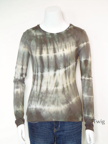 Tie Dye Long Sleeve Everyday Tee