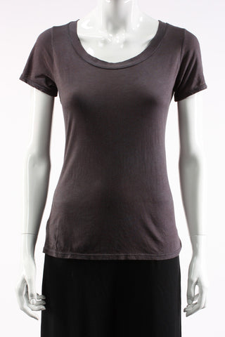 Scoop Neck Featherweight Tee
