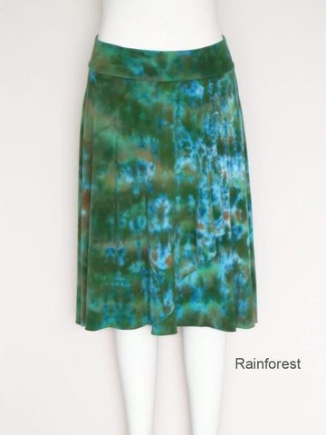 Tie Dye Four Seasons Wrap Skirt