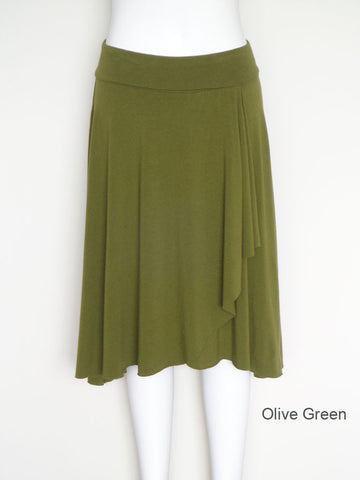 Olive Four Seasons Wrap Skirt