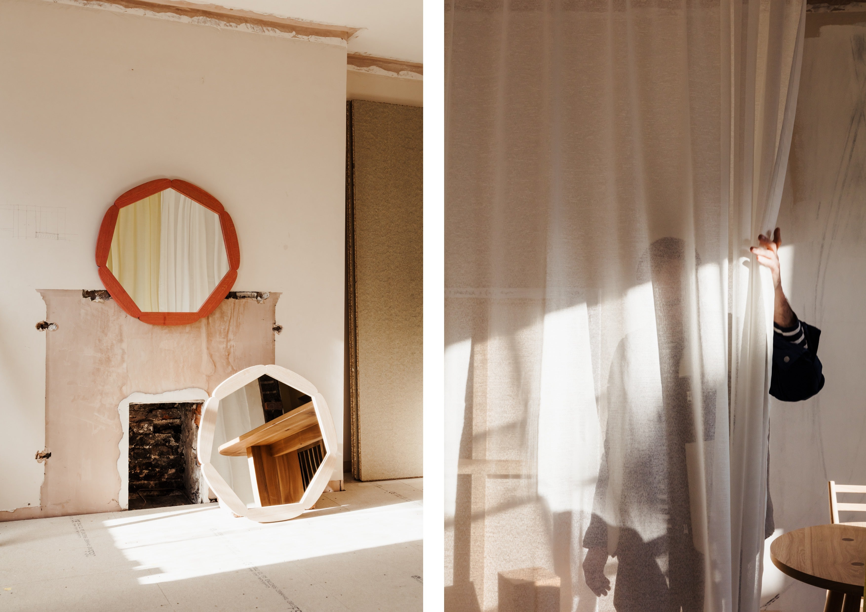 Beautiful light for our recent shoot, 'In House'