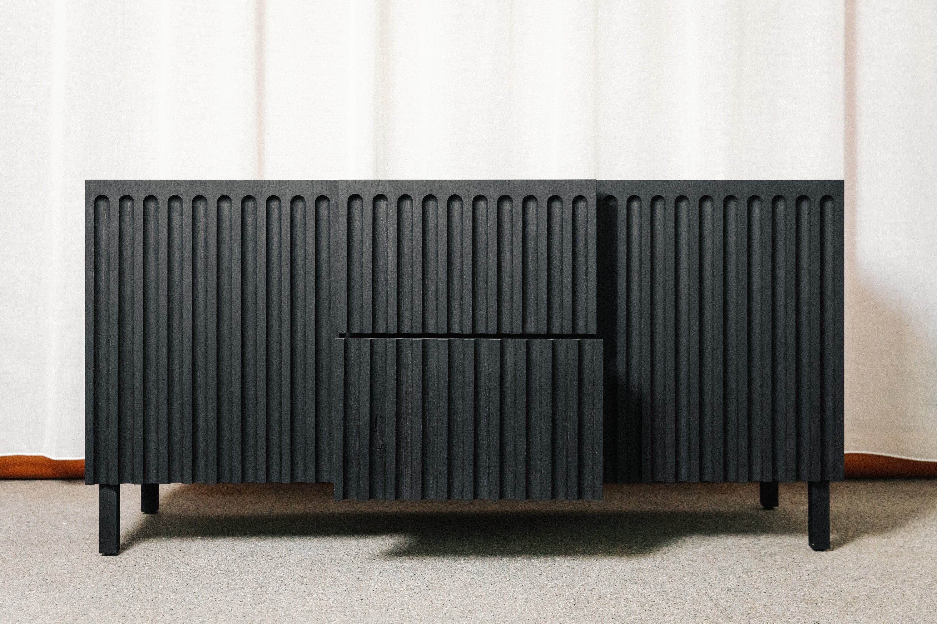 The Fluted Sideboard