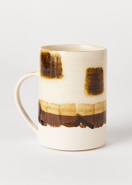 Patch Porcelain Mugs by Pottery West