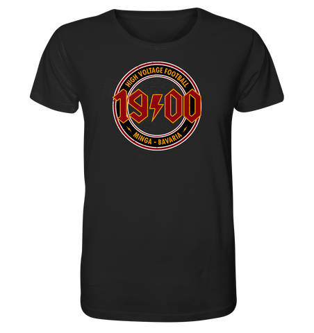 High Voltage Football - Organic Shirt