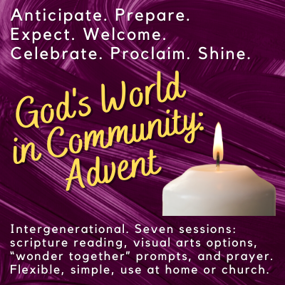 Advent intergenerational ministry