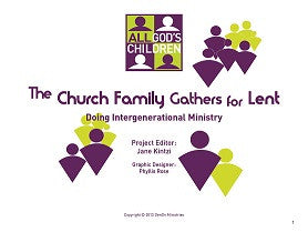 All God's Children: The Church Family Gathers for Lent SAMPLE