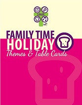 Family Time Holiday Themes and Table Cards