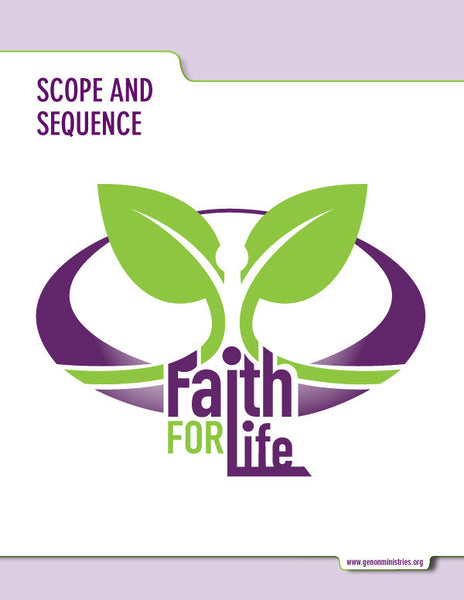 Faith for Life Scope and Sequence