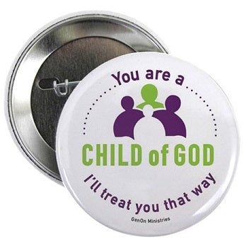 Child of God Button