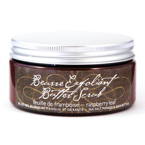 Raspberry Leaf Butterscrub