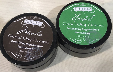 Glacial Clay Cleansers