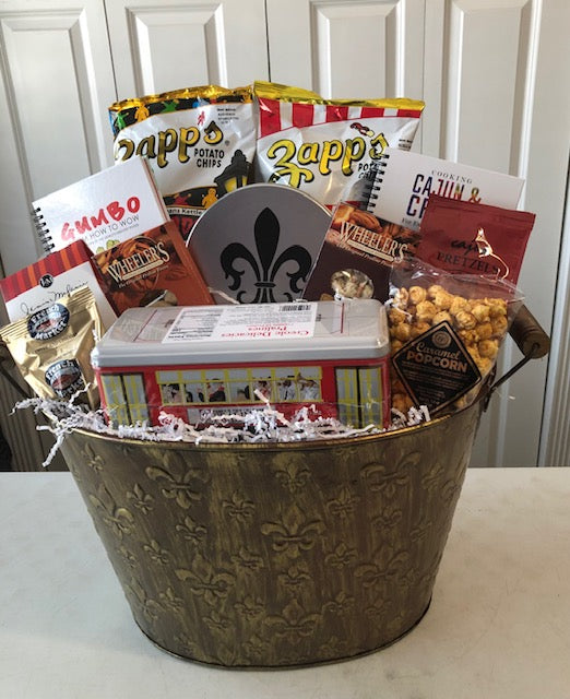 Welcome & Taste of New Orleans Gift baskets