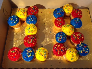 18th Birthday Cupcakes