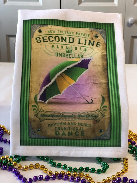Second Line Dish Towel
