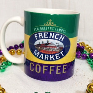 French Market Coffee Mug
