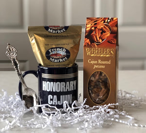 Honorary Cajun Pecans & Mug Gift Set