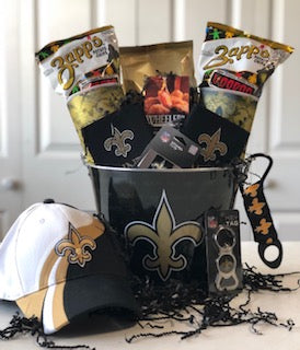 Geaux Saints Bucket