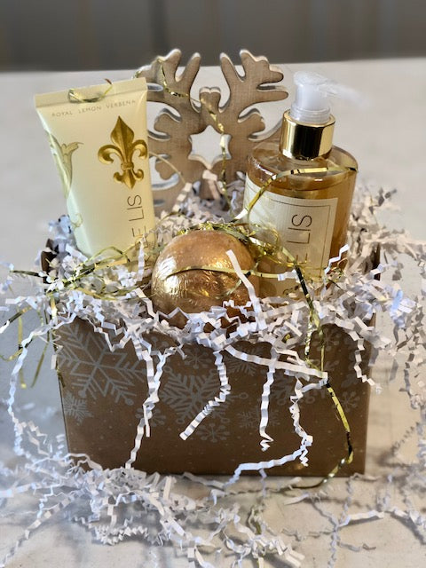 Snowflake Bath Gift Set