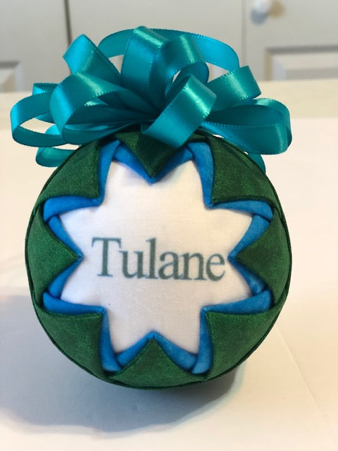 Tulane Ornament