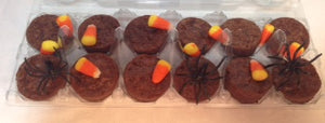 Halloween Brownie Bites