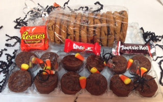 Halloween Brownie Bites & Cookies