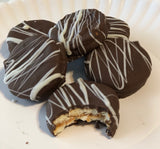 Chocolate Dipped Peanut Butter Crackers
