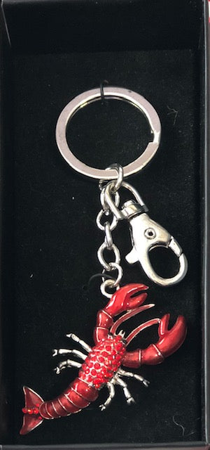 Crawfish Keychain
