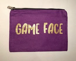 Game Face make up bag
