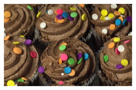 Mini Cupcakes (Chocolate)