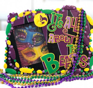 It's All About the Beads...Picture Frame