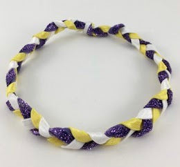LSU Braid Headband