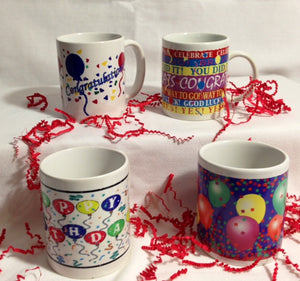 Birthday/ Celebrate Mugs