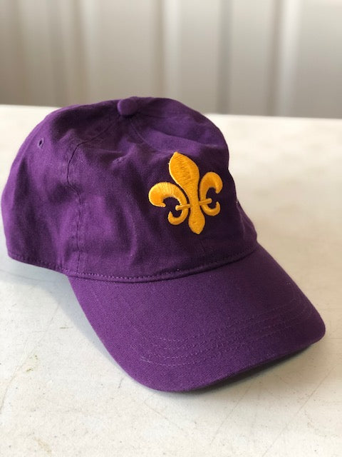 Purple & Gold FDL cap