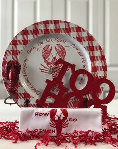 Too Hot Trivet & Charger set