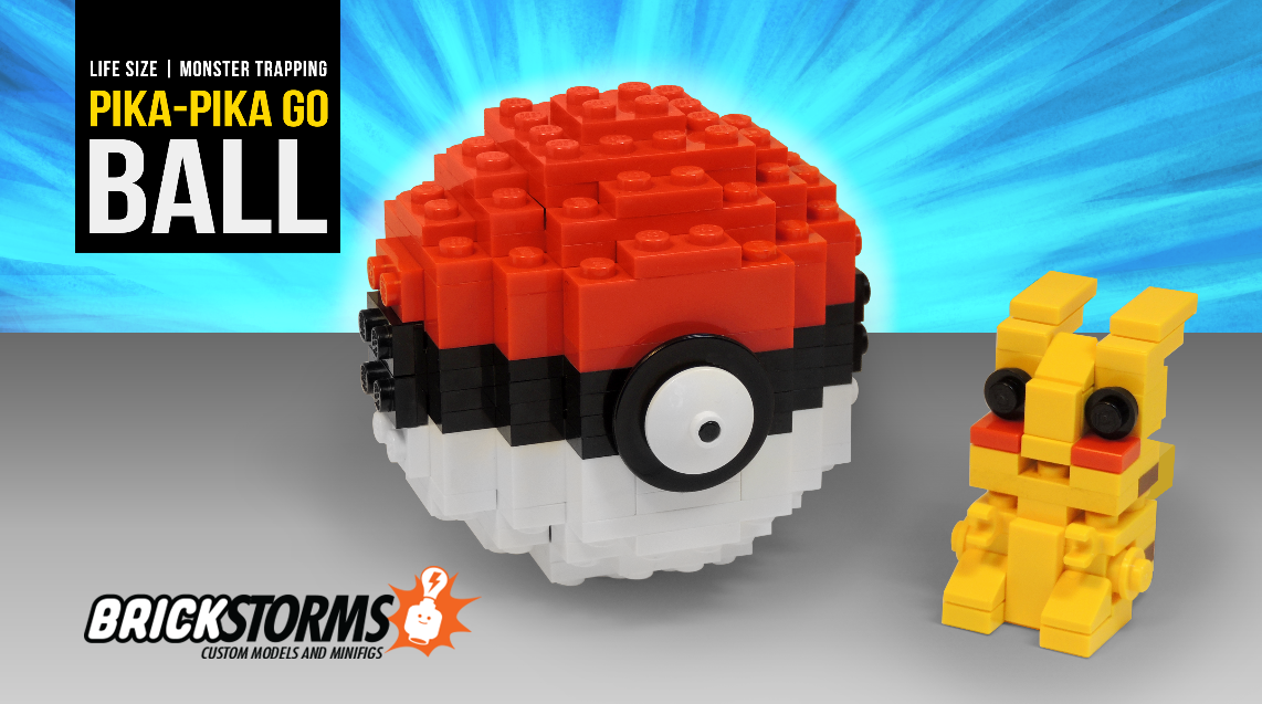 Custom Lego Pokeball