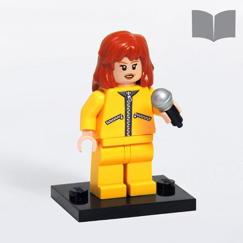 Custom LEGO Retro Style April minifig – Instructions Download