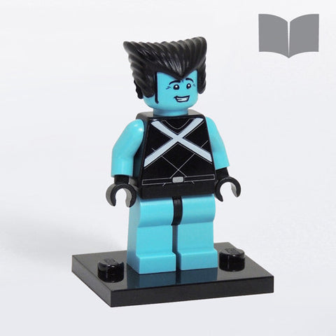Custom LEGO Hank Minifig in Classic X-Suit – Instructions Download