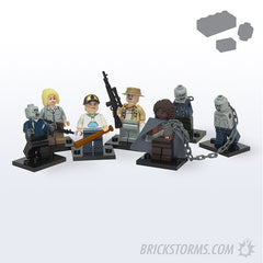 Custom LEGO Blocking Dead Survivors Pack - Parts+Instructions - BRICKSTORMS  - 1