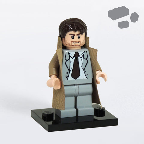 Custom LEGO Castiel Supernatural