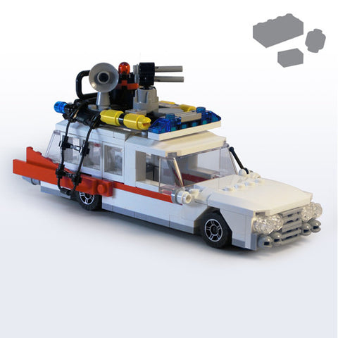 Custom LEGO ECTO Parts+Instructions