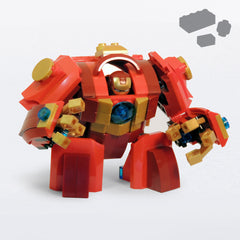 Custom LEGO IRON BUSTER Parts+Instructions - BRICKSTORMS  - 1
