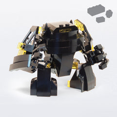 Custom LEGO KNIGHT BUSTER Parts+Instructions - BRICKSTORMS  - 1