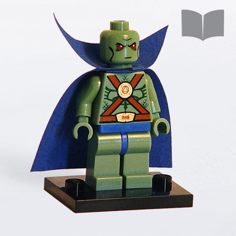 Custom LEGO Manhunter Minifig – Instructions Download