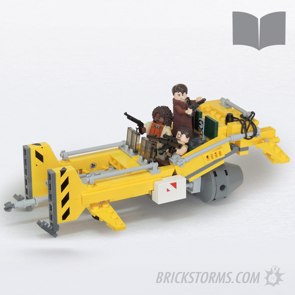 Custom Lego Browncoat Workhorse – Printed Instructions