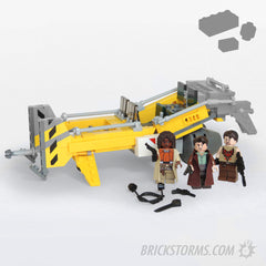 Custom Lego Browncoat Workhorse – Parts + Instructions - BRICKSTORMS  - 1