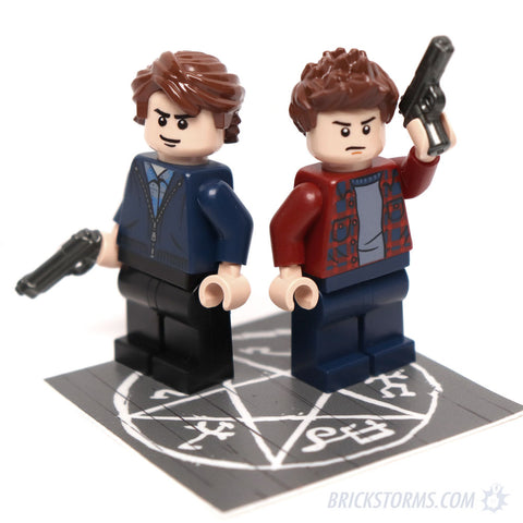 Custom LEGO Supernatural Late Season Hunters Sam and Dean