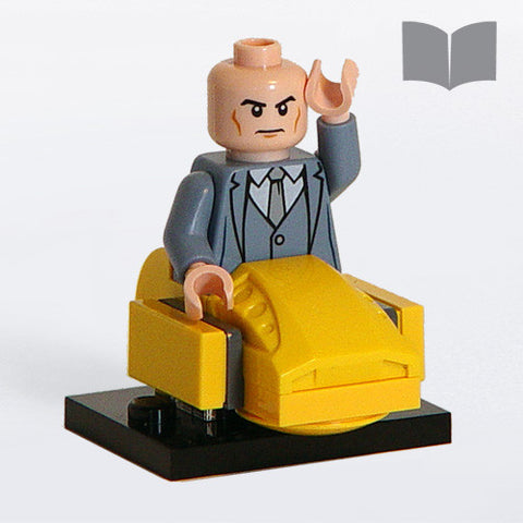 Custom LEGO Professor MInifig – Instructions Download