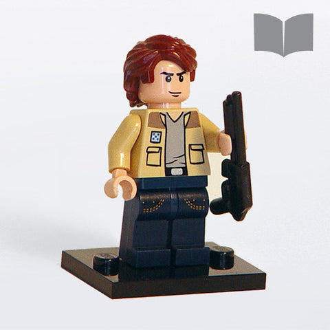 Custom LEGO Sam Supernatural Minifig – Instructions Download